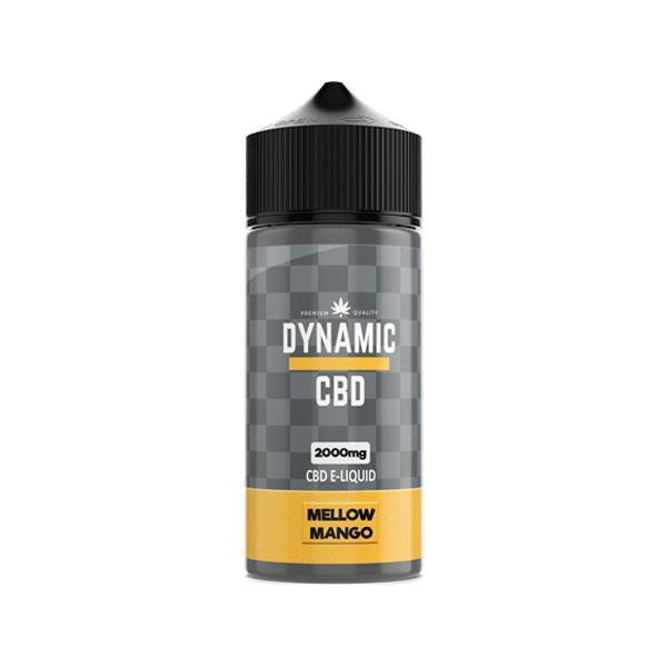 Load image into Gallery viewer, Dynamic CBD 2000mg E-liquid 100ml