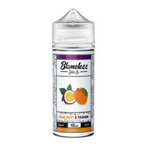 Load image into Gallery viewer, Blameless Juice Co. 0mg 100ml Shortfill (70VG/30PG)
