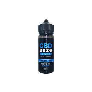 Load image into Gallery viewer, CBD Eaze 1000MG CBD 100ml Shortfill E-Liquid
