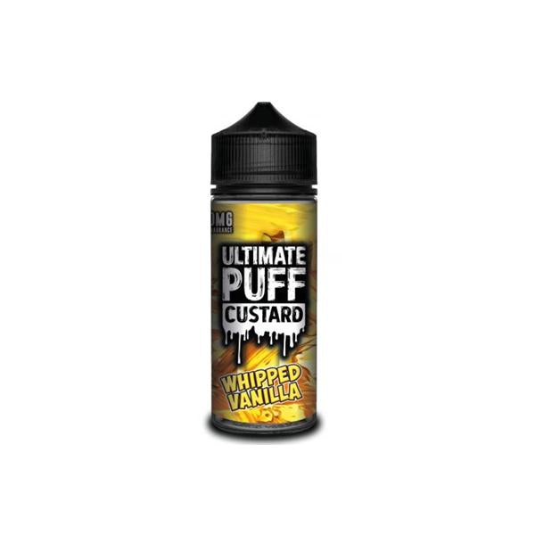 Load image into Gallery viewer, Ultimate Puff Custard 0mg 100ml Shortfill (70VG/30PG)