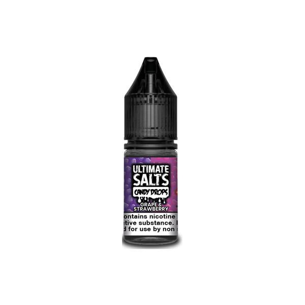Load image into Gallery viewer, 20MG Ultimate Puff Salts Candy Drops 10ML Flavoured Nic Salts