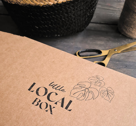 Little Local Box - Plastic-free & sustainable gift box packaging
