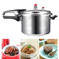 18cm/20cm/22cm 304 Stainless Steel Kitchen Pressure Cooker Electric Stove Gas Stove Energy-saving Safety Cooking Utensils