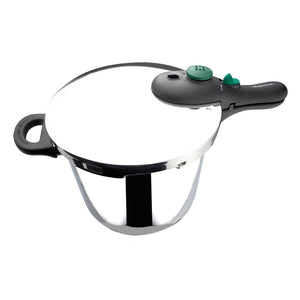 Dynamic Pressure cooker Super fast easy Use, Steel stainless 18/10, Pack exclusive pot + insert basket.