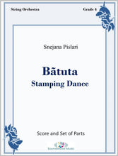 Load image into Gallery viewer, Batuta (Stamping Dance) - String Orchestra