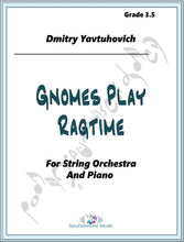 Load image into Gallery viewer, Gnomes Play Ragtime