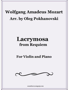 Lacrymosa from Requiem for Violin and Piano