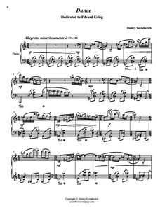 Six Character Pieces For Piano