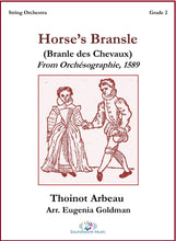 Load image into Gallery viewer, Horse's Bransle (Branle des Chevaux)
