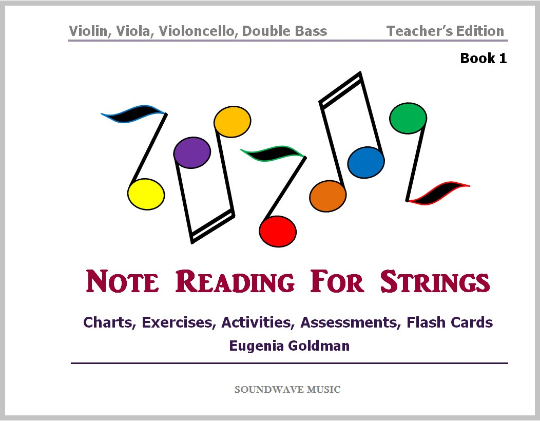 Note Reading for Strings (Book 1)