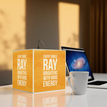 Load image into Gallery viewer, Every Single Ray Brightens With Good Energy - Personalized Lamp