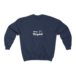Unisex Sweatshirt - Mrs. Right