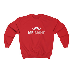 Unisex Sweatshirt - Mr. Right
