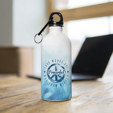 Load image into Gallery viewer, Your Words Are Powerful Use Them Wisely - Stainless Steel Water Bottle