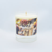 Load image into Gallery viewer, SPICED APPLE SOY WAX CANDLE
