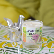 Load image into Gallery viewer, RASPBERRY CRUSH SOY WAX CANDLE
