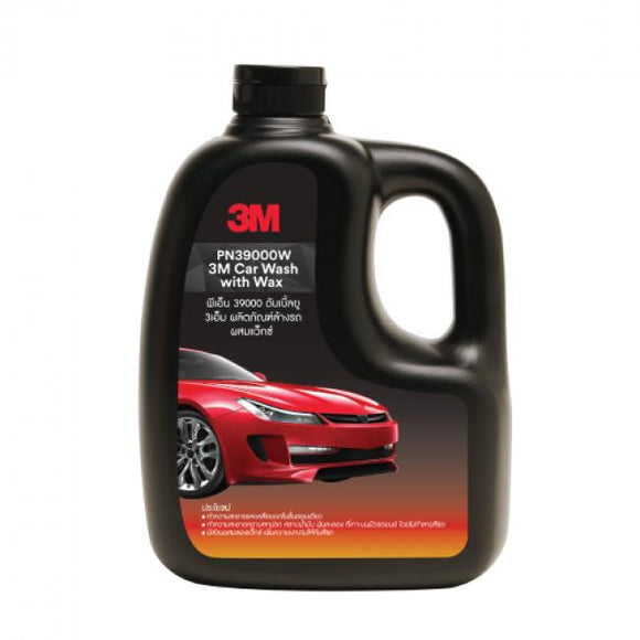 3M- WASH AND WAX SHAMPOO