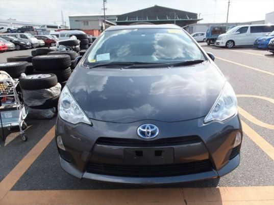 Toyota - Aqua S Package 2013 Grey