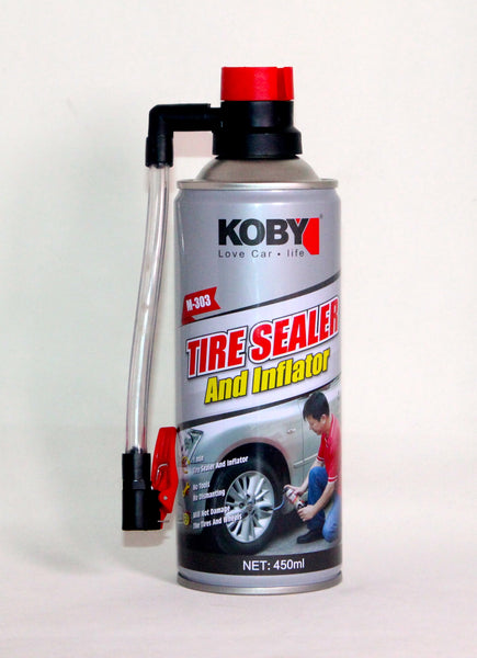 KOBY- TIRE SEALER AND INFLATOR