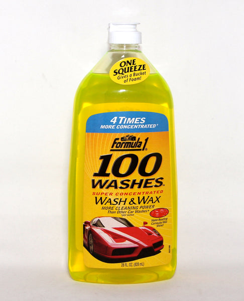 FORMULA 1- 100 WASHES (WASH & WAX)