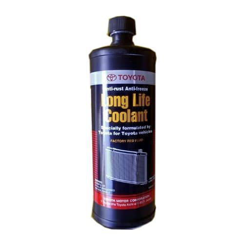 Toyota Radiator Coolant - Red Fluid 1 Litter Bottle (08889-80038)