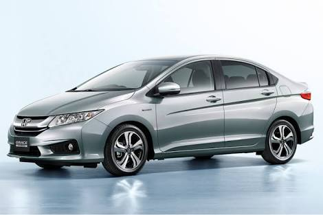 Honda Grace 2015 - Booking payment
