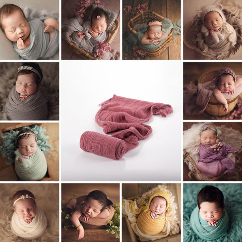 Stretch Baby Photography Props Blanket Wraps