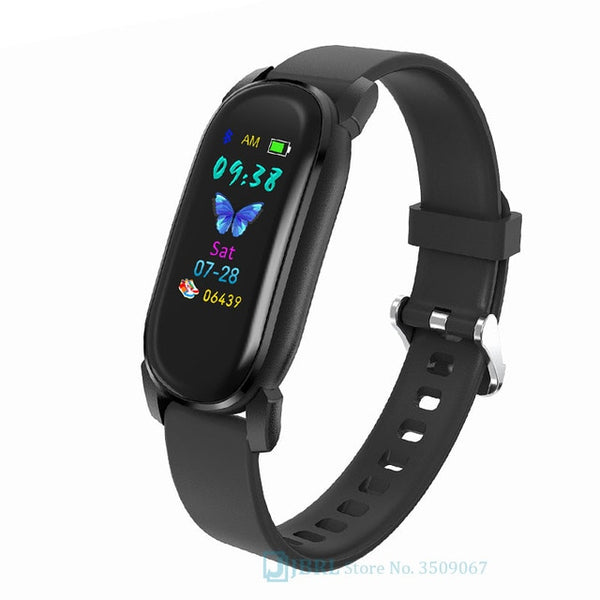 Temperature Smart Band Women Men Smart Bracelet Fitness Tracker For Android IOS Smartband Top Luxury Wristband Smart Wrist Band