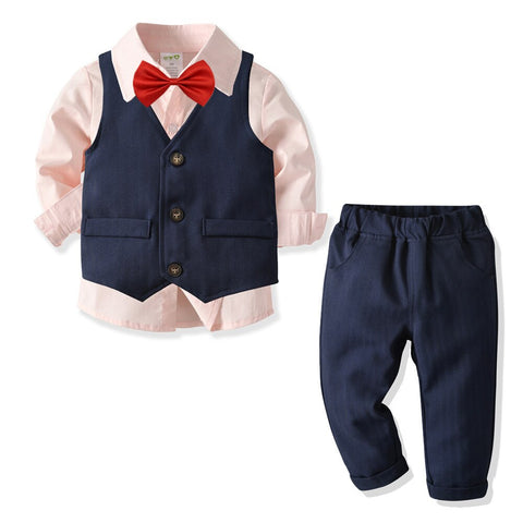 Clothing Children Boys Sets 4 Pcs
