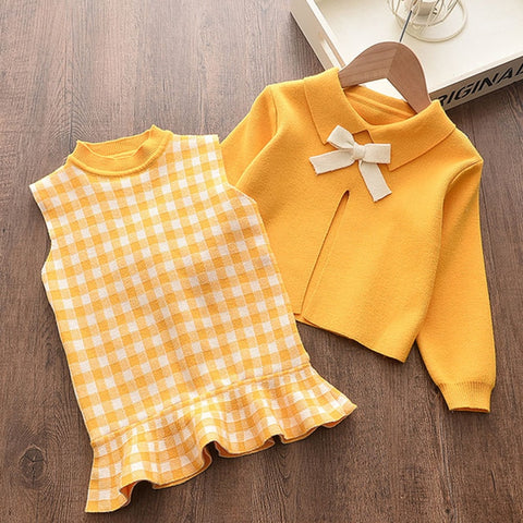 Baby Girl Dress Long Sleeve Autumn Winter Dress 1 Year Birthday