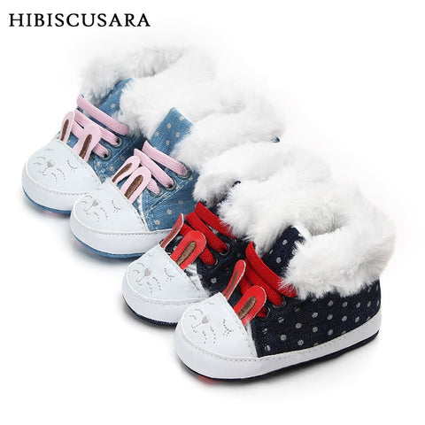 Adorable Baby Infant Winter Shoes