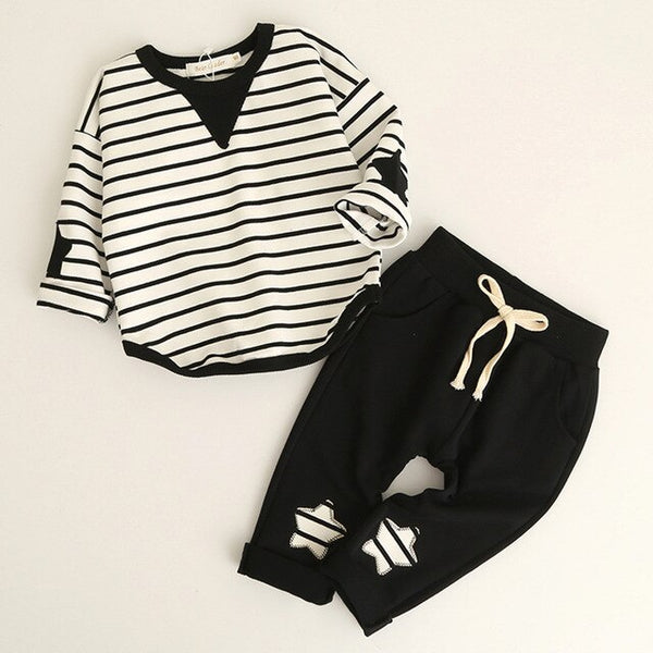 T-shirt+child Pants 2pcs