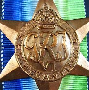 WW2 AUSTRALIA-BRITISH ATLANTIC STAR CAMPAIGN MEDAL
