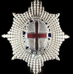BRITISH ARMY OFFICER COLDSTREAM GUARDS CAP BADGE