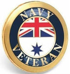 ROYAL AUSTRALIAN NAVY VETERAN LAPEL PIN