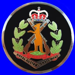 RAR INFANTRY COIN