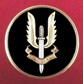 AUSTRALIAN & BRITISH ARMY SAS SPECIAL FORCES COIN
