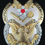 U.S. AIR FORCE INSPECTOR GENERAL IDENTIFICATION BADGE