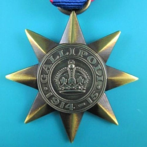 AUSTRALIAN GALLIPOLI STAR MEDAL - SCARCE ORIGINAL