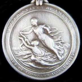 U.S. MILITARY COAST GUARD SILVER LIFESAVING MEDAL