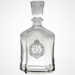 RAR GLASS DECANTER MADE IN ITALY IN BOX