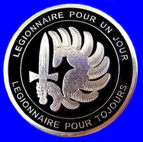FRENCH 2E REP COMMANDO SPECIAL FORCES COIN