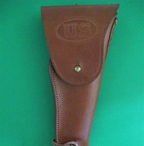 REPLICA U.S. ARMY .45 COLT 1911 LEATHER HOLSTER