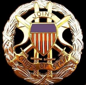 U.S. JOINT CHIEF OF STAFF OFFICER I.D. BADGE
