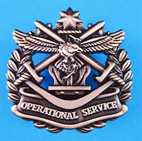 AUSTRALIAN OPERATIONAL SERVICE OSB BADGE