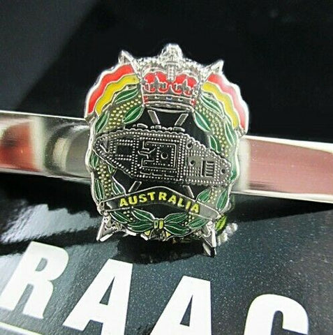RAAC ROYAL AUSTRALIAN ARMOURED CORPS TIE BAR