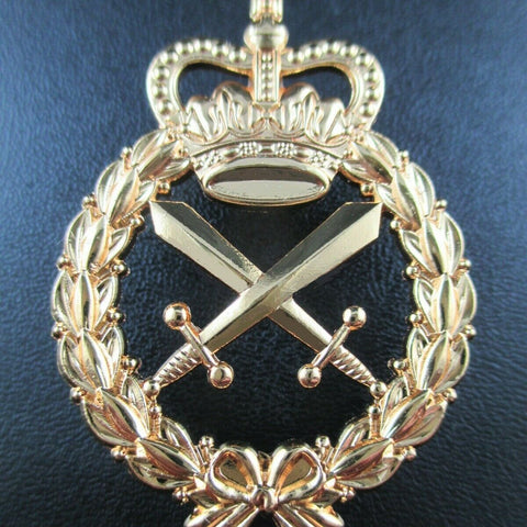 ROYAL AUSTRALIAN CORPS OF MILITARY POLICE RACMP HAT BADGE