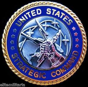 U.S. COMMAND NUCLEAR MISSILE DEFENSE BADGE
