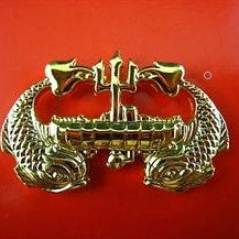 U.S. NAVY SUBMARINE SUBMERGENCE BADGE