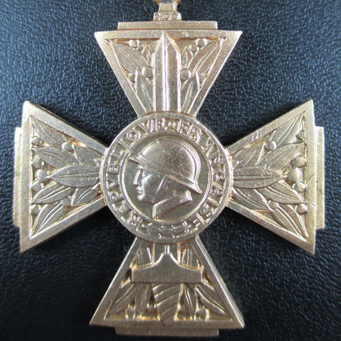 FRENCH VOLUNTEER COMBATANT'S CROSS MEDAL